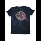 Футболка  мужская Орел в Кругу темно-синий