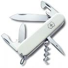 Нож Victorinox Spartan, 91 мм, 12 функций, белый