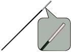 Сегменты дуги фибергласс Ø 9,5 мм, длина 55см