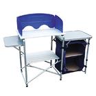 Складная походная кухня Tramp TRF-021 серый/синий