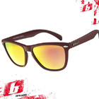 Солнцезащитные очки BRENDA 301 mgrape-red revo