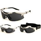 Солнцезащитные очки BRENDA мод. L811-2/3 white/smoke