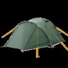 Палатка BTrace Canio 4 Зеленый/Бежевый