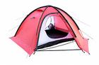 Экстремальная палатка TALBERG SPACE PRO 3 RED (красный),3-местная, алюминий
