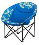 Кресло скл. cталь King Camp Moon Leisure Chair (синяя пальма)