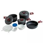 Набор посуды Tramp TRC-026 3-5 человек (анодированный алюминий)