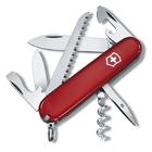 Нож Victorinox Camper, 91 мм, 13 функций, красный.1.3613