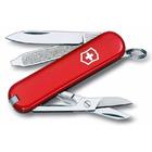 Нож Victorinox Classic, 58 мм, 7 функций, красный, блистер