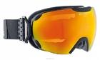 Очки горнолыжные Alpina ESTETICA MM sph. black matt MM red sph. S2 / MM red sph. S2