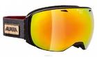 Очки горнолыжные Alpina GRANBY MM sph. black matt MM gold sph.S3 / MM gold sph.S3