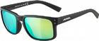 Очки солнцезащитные Alpina 2020 Kosmic Black Matt/Neon Yellow Mirror