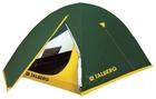 Палатка туристическая Talberg Sliper, трехместная (зеленая)