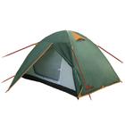 Палатка Totem Tepee 2+1, трехместная (зеленая)