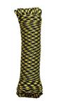 """Паракорд 4мм  """"Черный + желтый"""