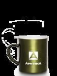 Термокружка цветная невакуумная Арктика, 400 мл,Серия 802-400