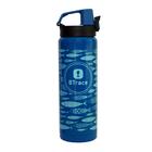 Термос для напитков BTrace 506-600F (0,6 л) (синий/рис.рыбы)
