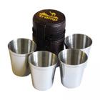 Набор стаканов из стали Tramp TRC-076 175 мл